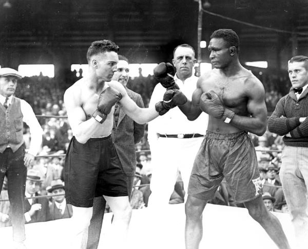 Eighteen fights losing only to leo lomski whom he spotted a dozen